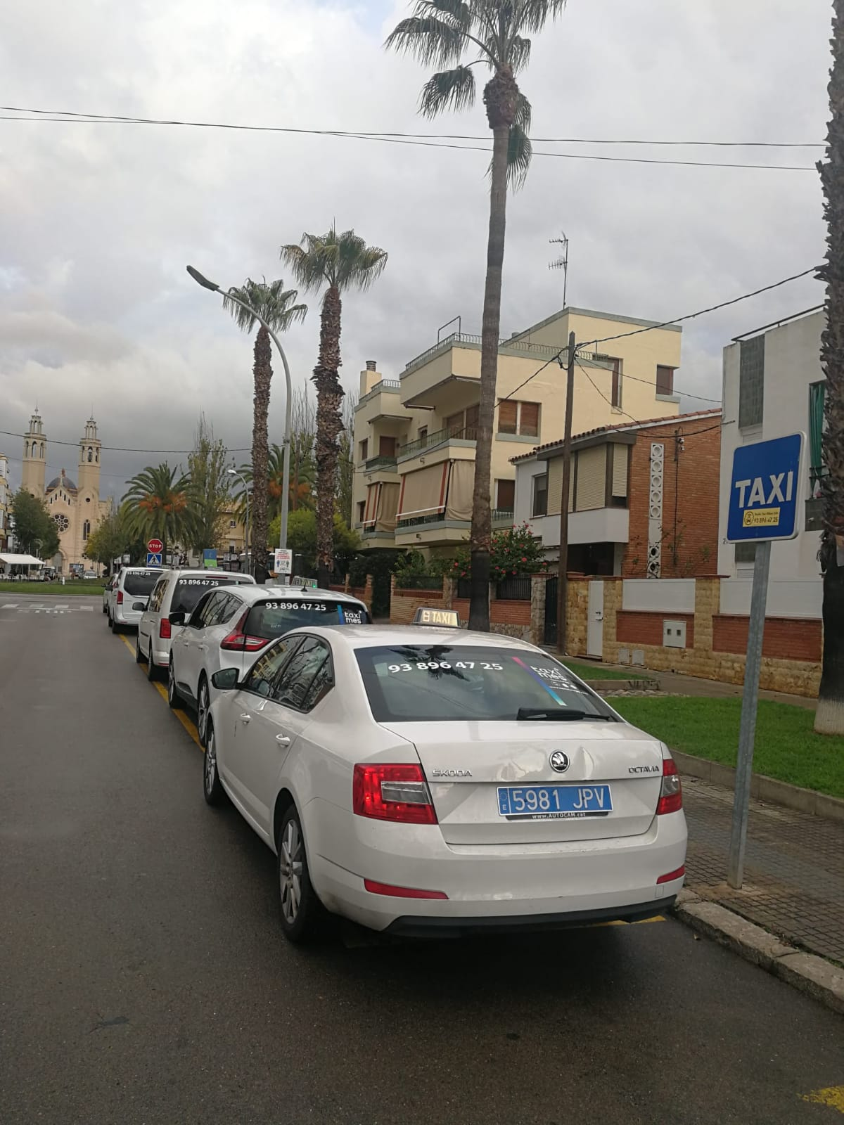 Flota Taxi Sant Pere de Ribes